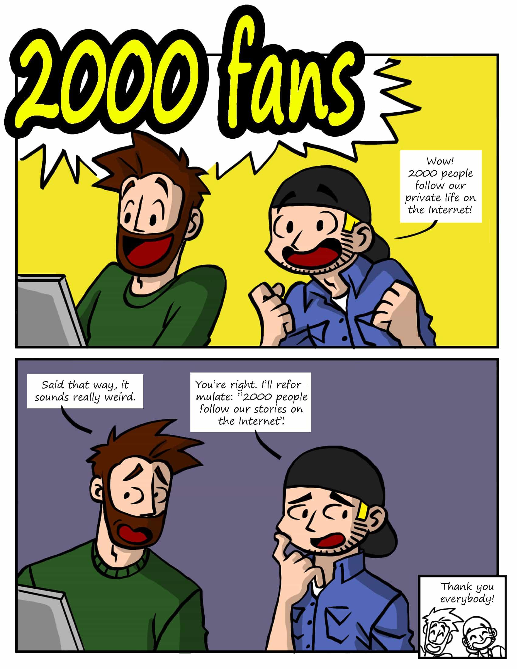 Promo - 2000 fans