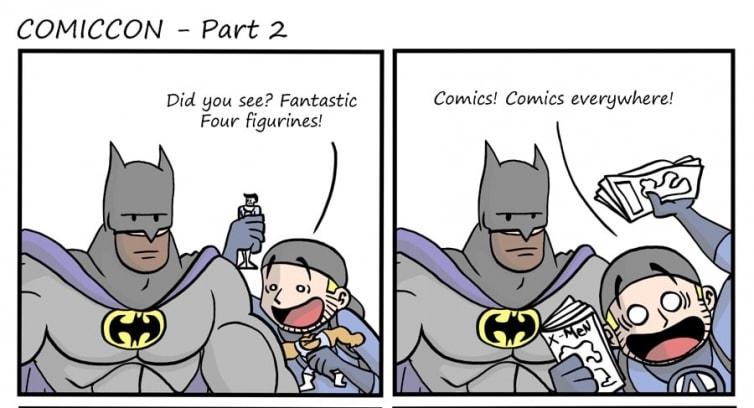 Episode 44 – Comiccon – Part 2