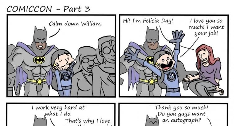 Episode 45 – Comiccon – Part 3