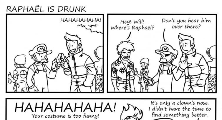 Episode 51 – Raphaël is drunk