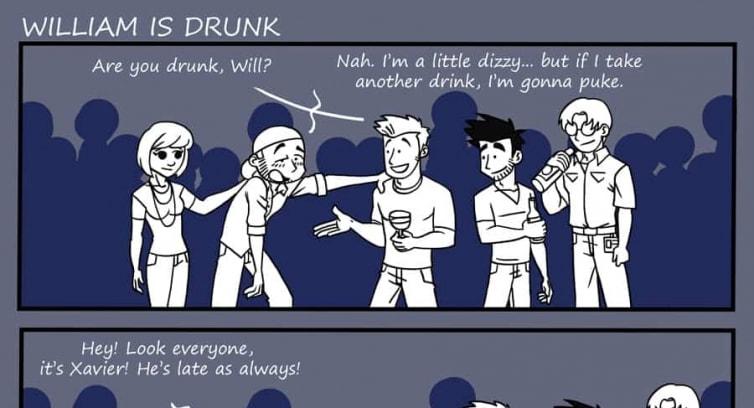 Episode 52 – William is drunk