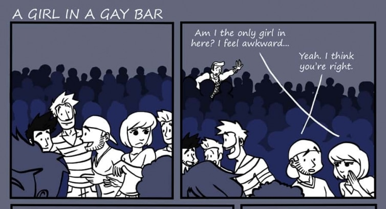 Episode 60 – A girl in a gay bar
