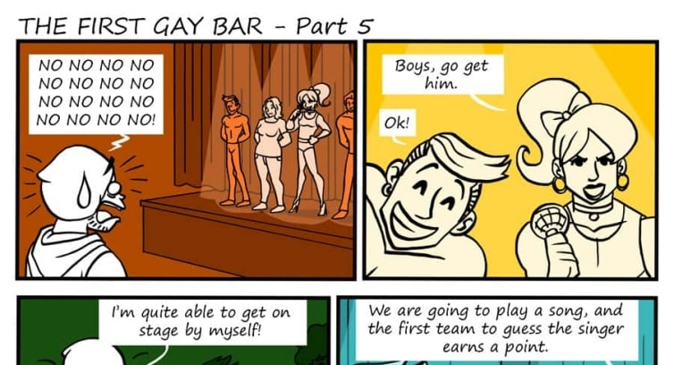 Episode 82 – The first gay bar – Part 5