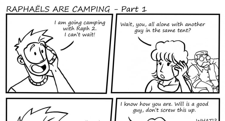 Episode 87 – Raphaël are camping – Part 1