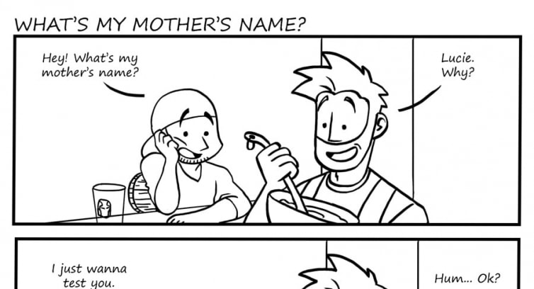 Episode 99 – What's my mother's name?