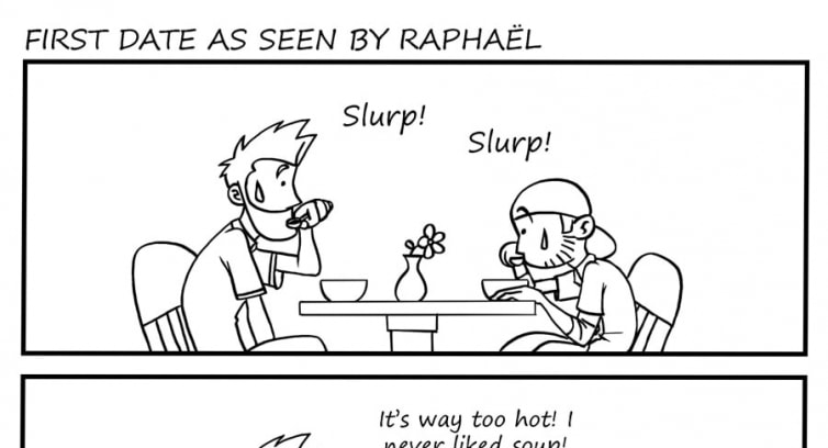 Episode 2 – Part 2 – First date seen by Raphaël