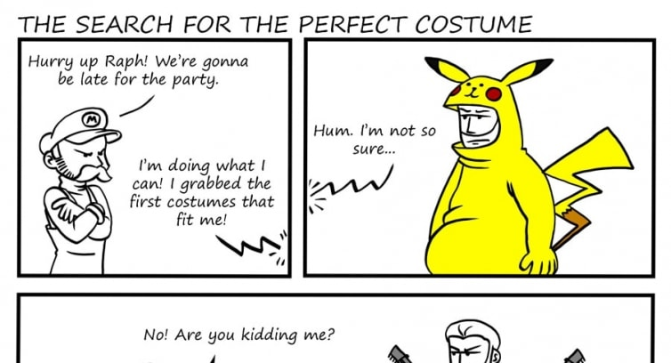 Episode 4 – The search for the perfect costume