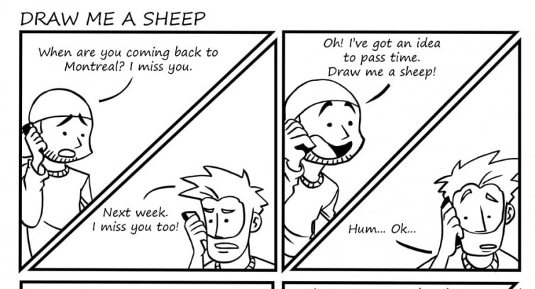 Episode 9 – Draw me a sheep