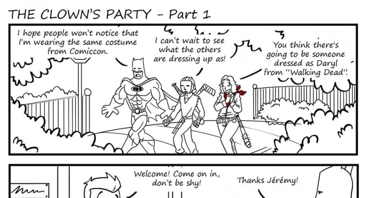 Special – The clown's party – Part 1