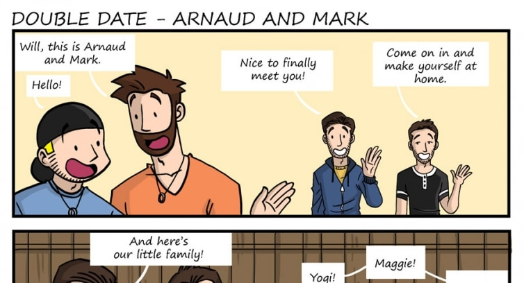 Episode 191 – Double date – Arnaud and Mark