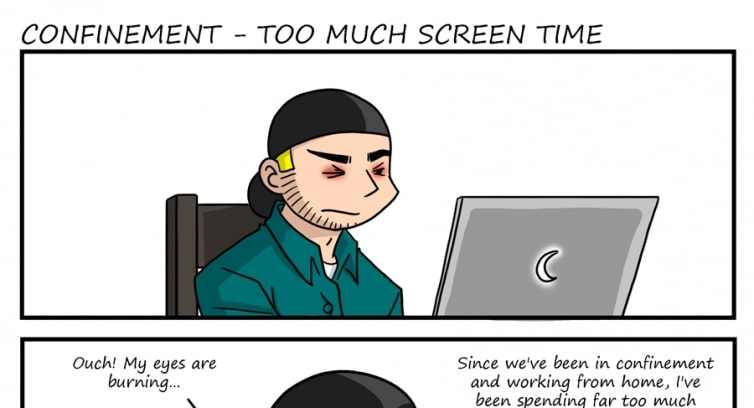 Special – Confinement – Too much screen time