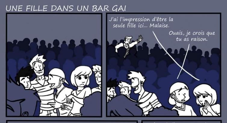 Épisode 60 – Une fille dans un bar gai