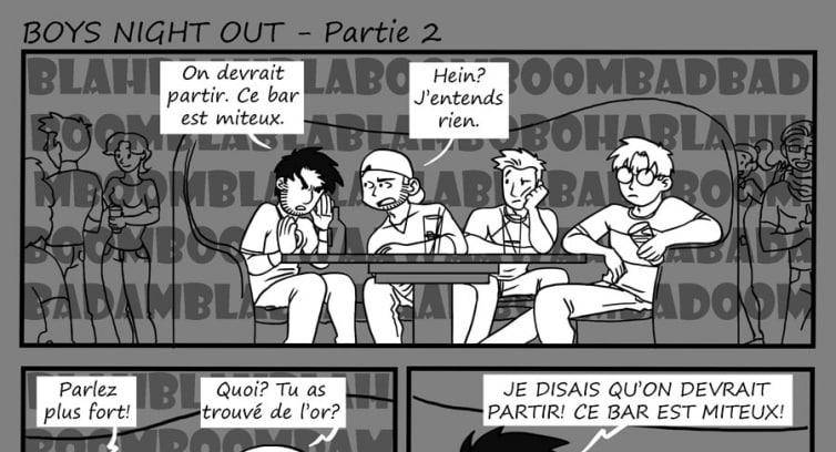 Épisode 97 – Boys night out – Partie 2