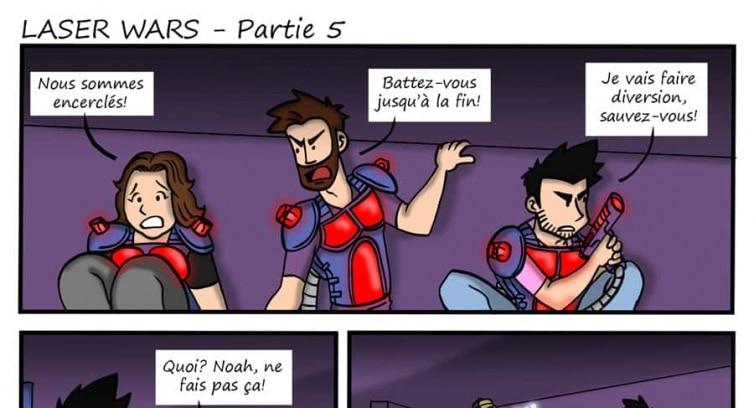 Épisode 107 – Laser wars – Partie 5