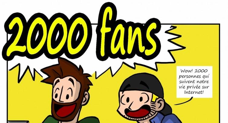 Promo – 2000 fans