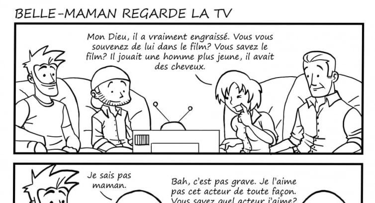 Épisode 8 – Belle-maman regarde la TV