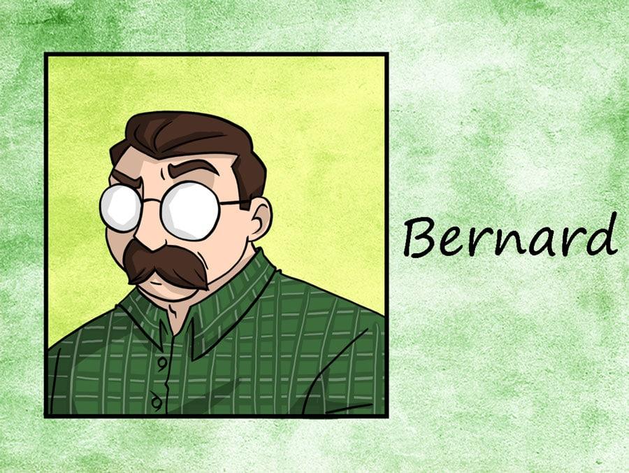 Personnage - Bernard