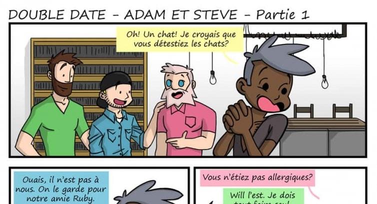 Spécial – Double Date – Adam et Steve – Partie 1