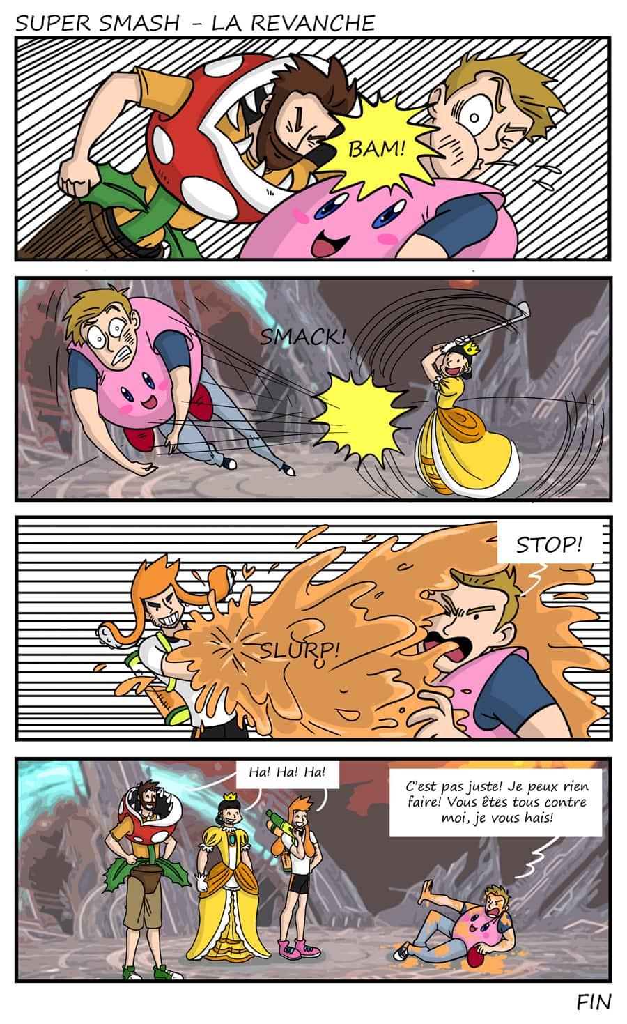 Spécial - Super Smash - La revanche