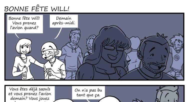Épisode 201 – Bonne fête Will!