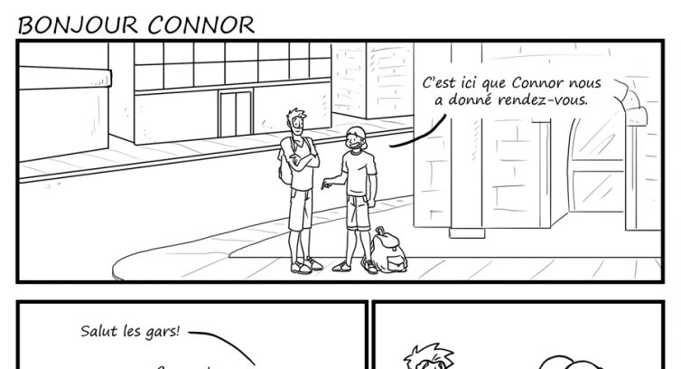 Épisode 233 – Bonjour Connor