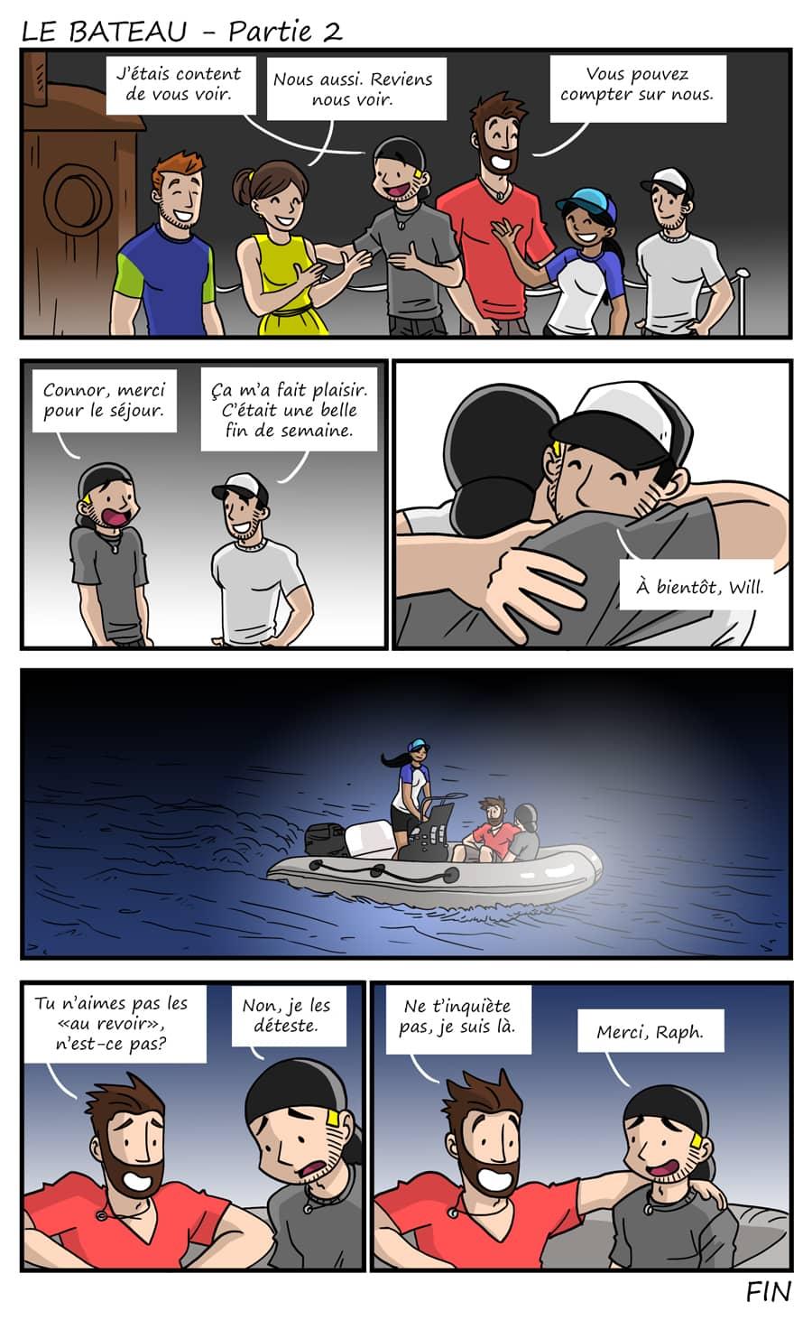 Épisode 239 - Le bateau - Partie 2
