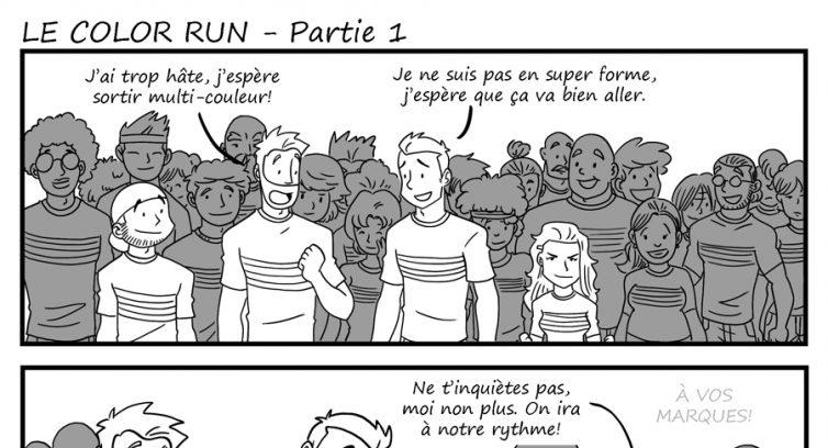 Épisode 245 – Le Color Run – Partie 1