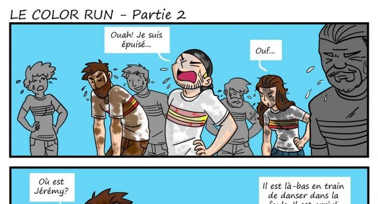 Épisode 246 – Le Color Run – Partie 2